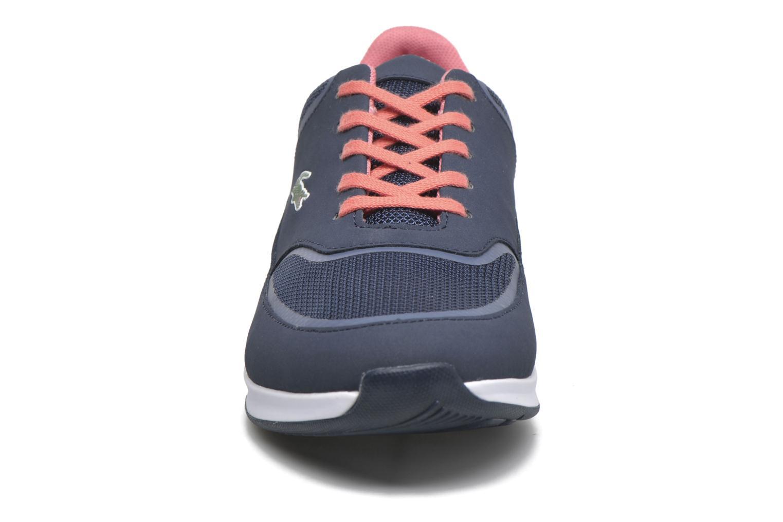 Sneaker Lacoste Chaumont Lace 316 2 blau schuhe getragen