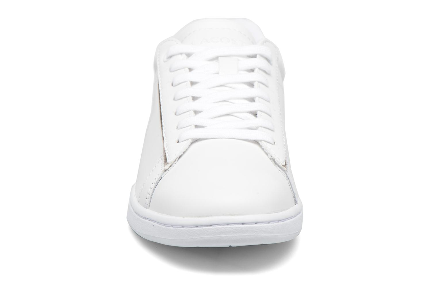 Baskets Lacoste Carnaby Evo 316 1 Blanc vue portées chaussures