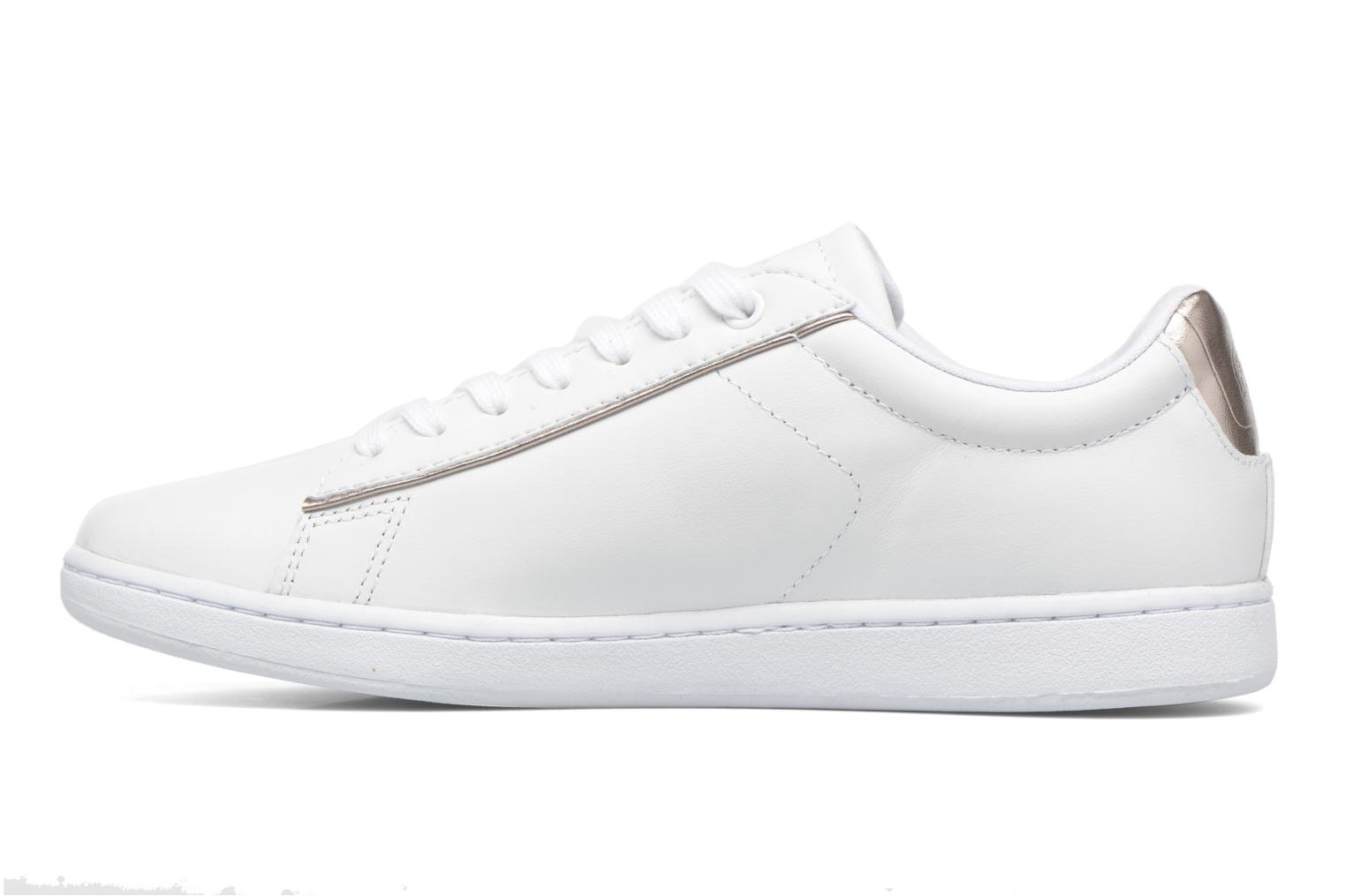 Baskets Lacoste Carnaby Evo 316 1 Blanc vue face