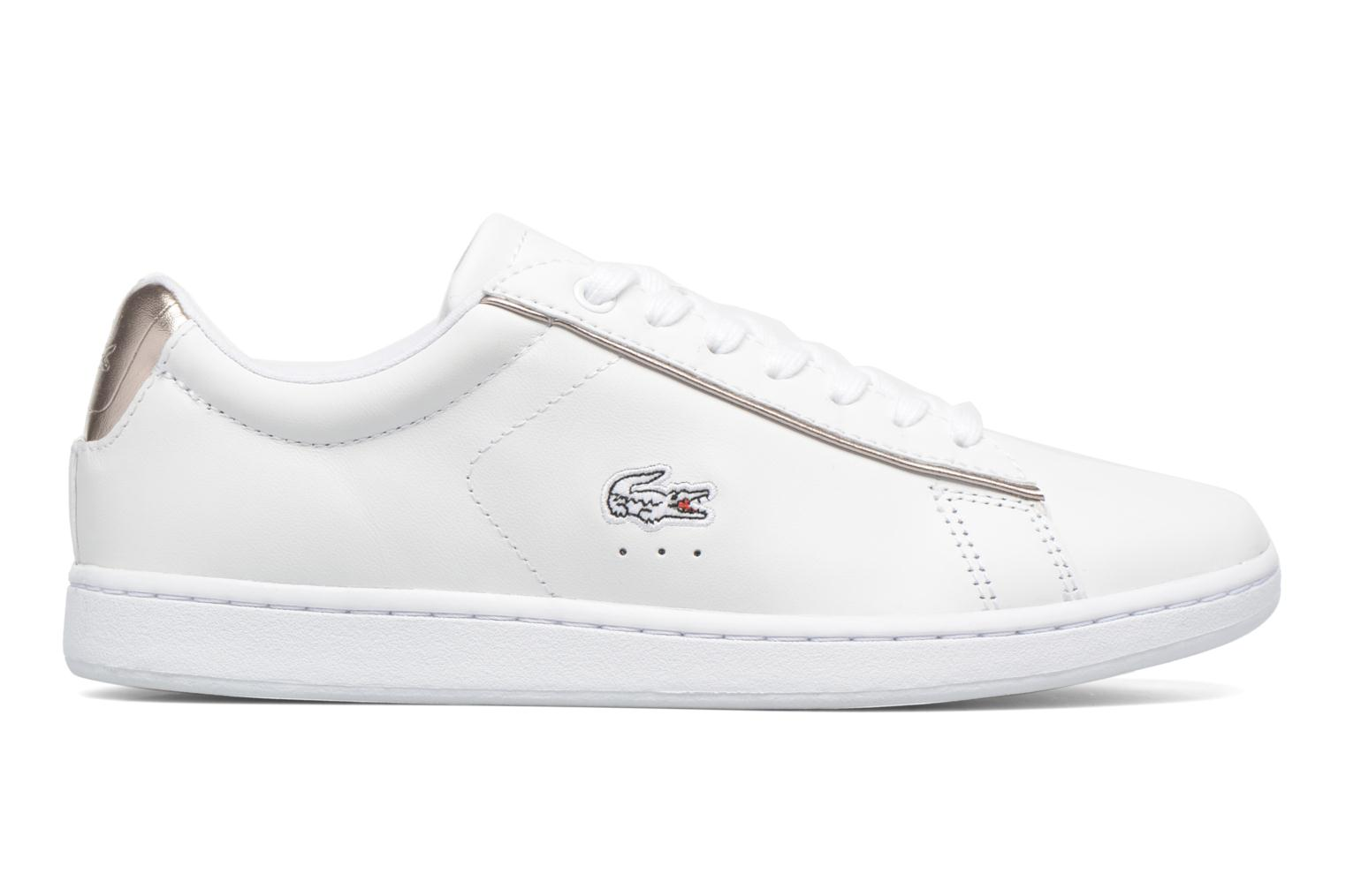 Trainers Lacoste Carnaby Evo 316 1 White back view