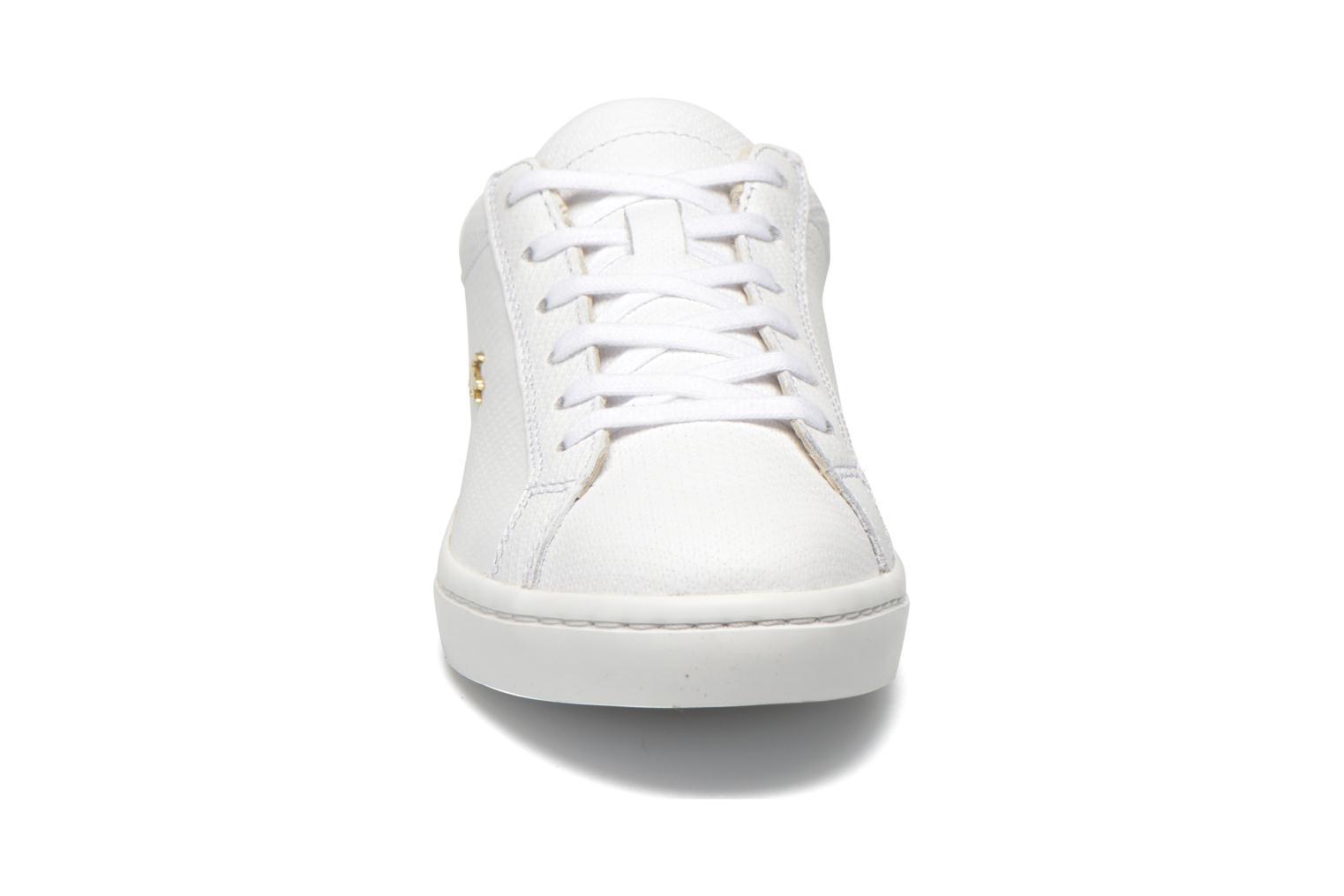 Baskets Lacoste Straightset 316 3 Blanc vue portées chaussures