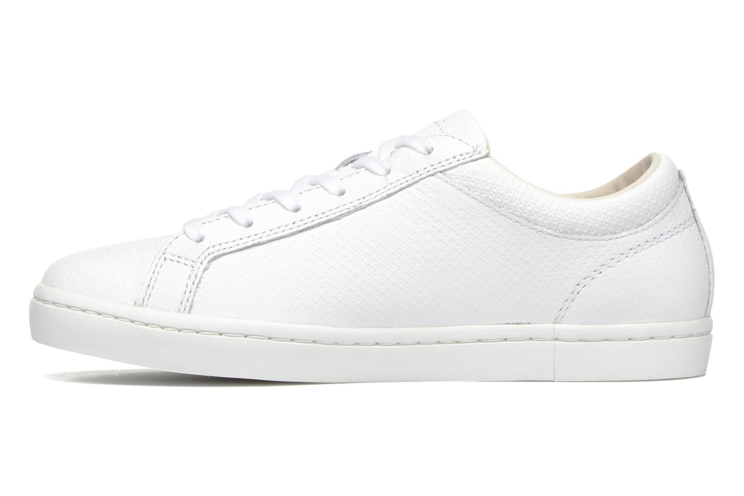 Baskets Lacoste Straightset 316 3 Blanc vue face