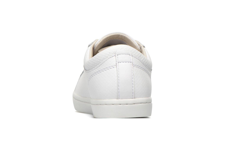 Baskets Lacoste Straightset 316 3 Blanc vue droite