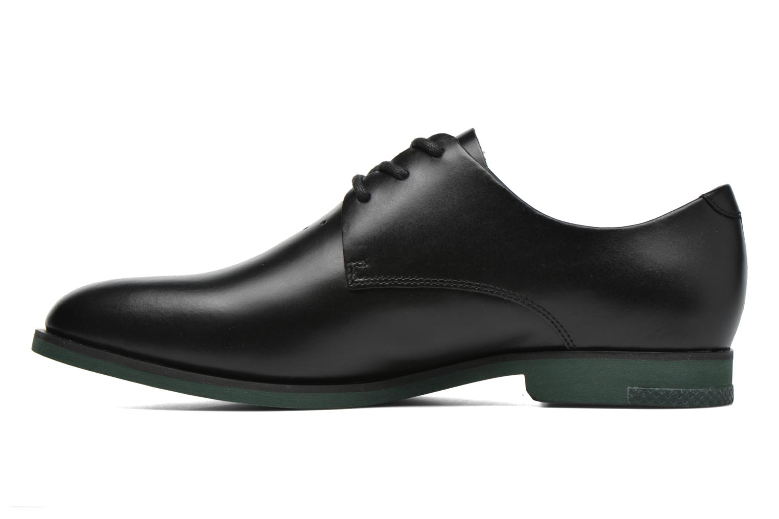Lace-up shoes Lacoste Cambrai 316 2 Black front view