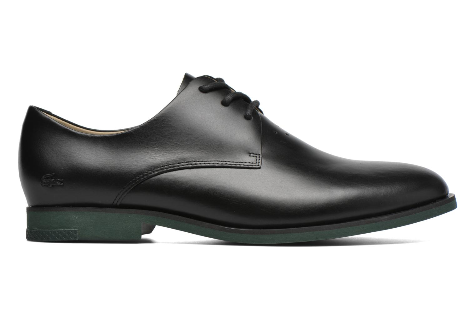 Lace-up shoes Lacoste Cambrai 316 2 Black back view
