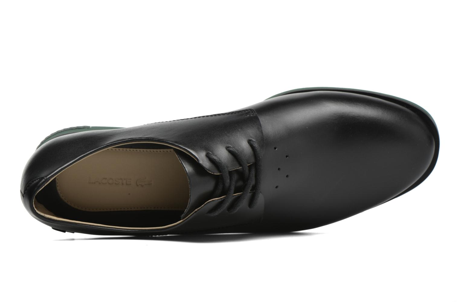Lace-up shoes Lacoste Cambrai 316 2 Black view from the left