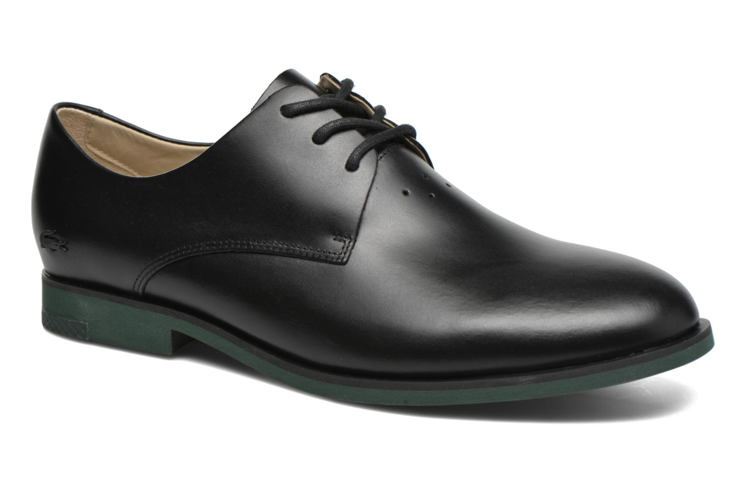 Lace-up shoes Lacoste Cambrai 316 2 Black detailed view/ Pair view