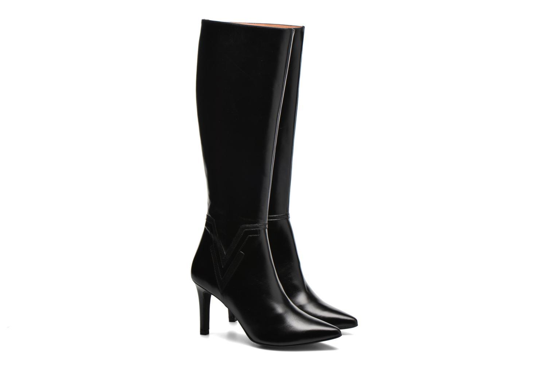 Laarzen Made by SARENZA Glamatomic #1 Zwart achterkant