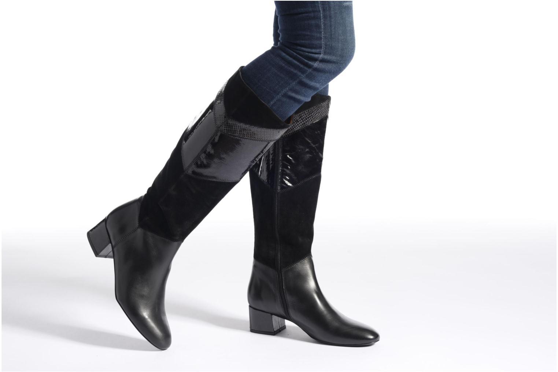 Stiefel Made by SARENZA See Ya Topanga #13 schwarz ansicht von unten / tasche getragen