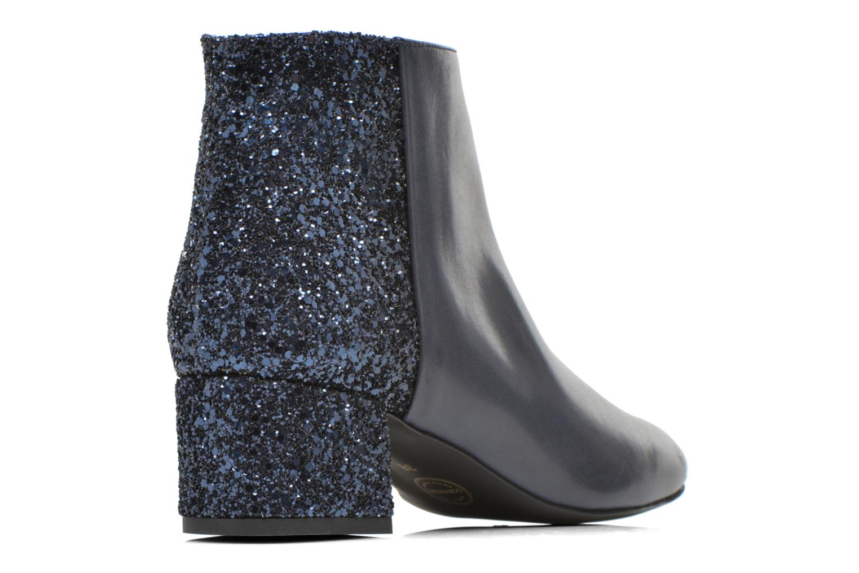 Bottines et boots Made by SARENZA Glamatomic #8 Bleu vue face