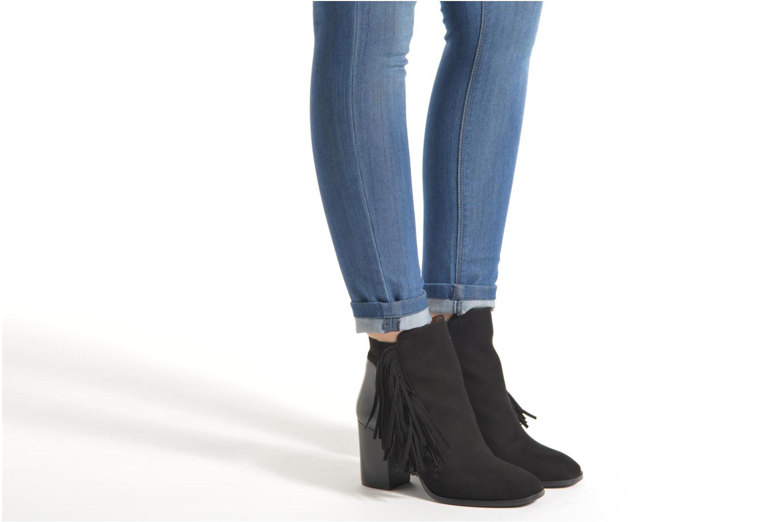 Bottines et boots Made by SARENZA See Ya Topanga #8 Noir vue bas / vue portée sac