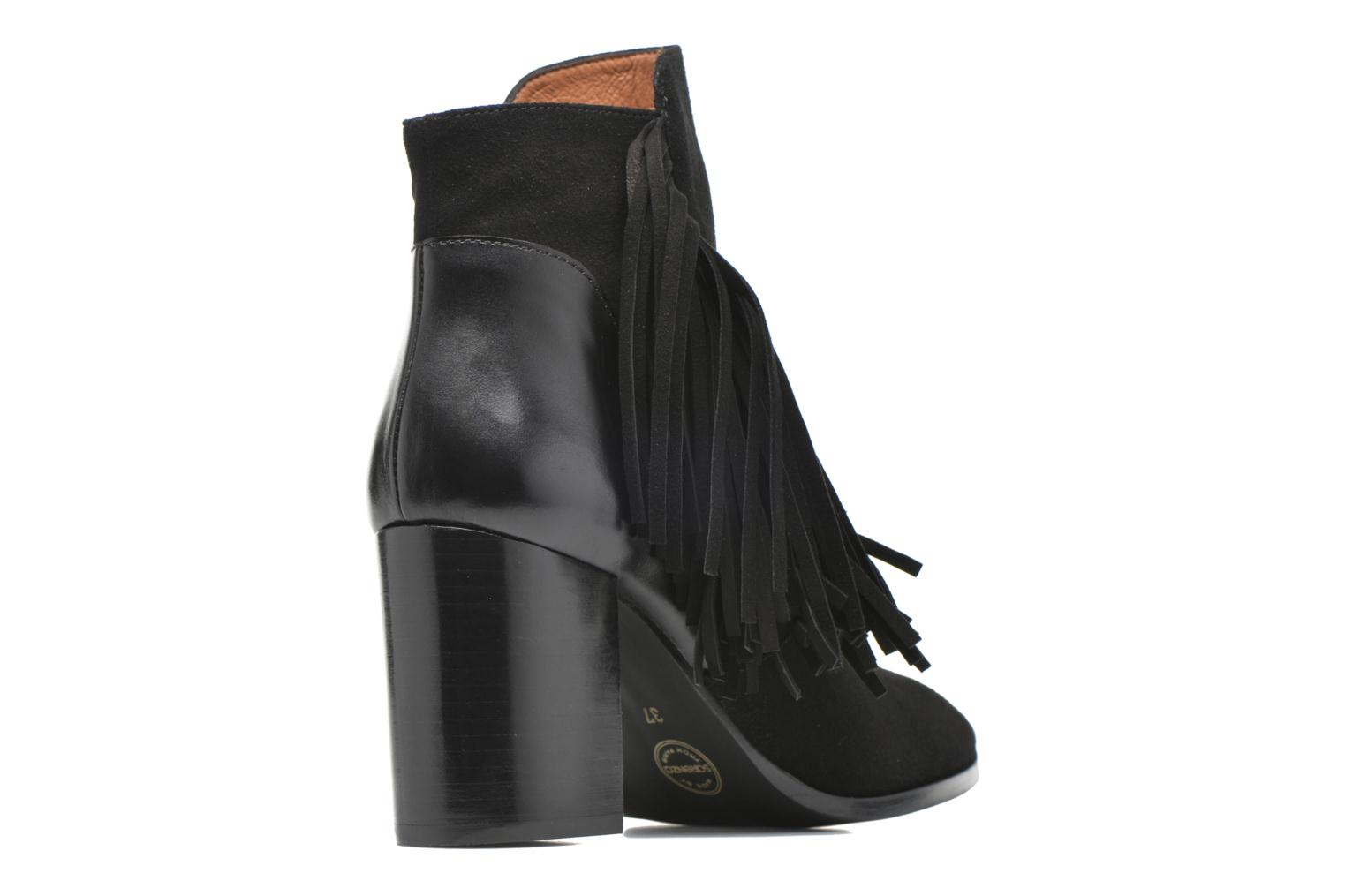 Ankle boots Made by SARENZA See Ya Topanga #8 Black front view
