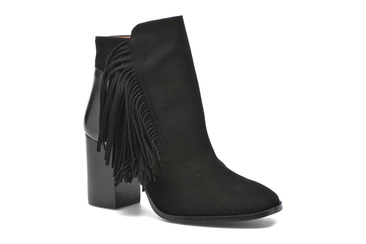 Ankle boots Made by SARENZA See Ya Topanga #8 Black view from the right
