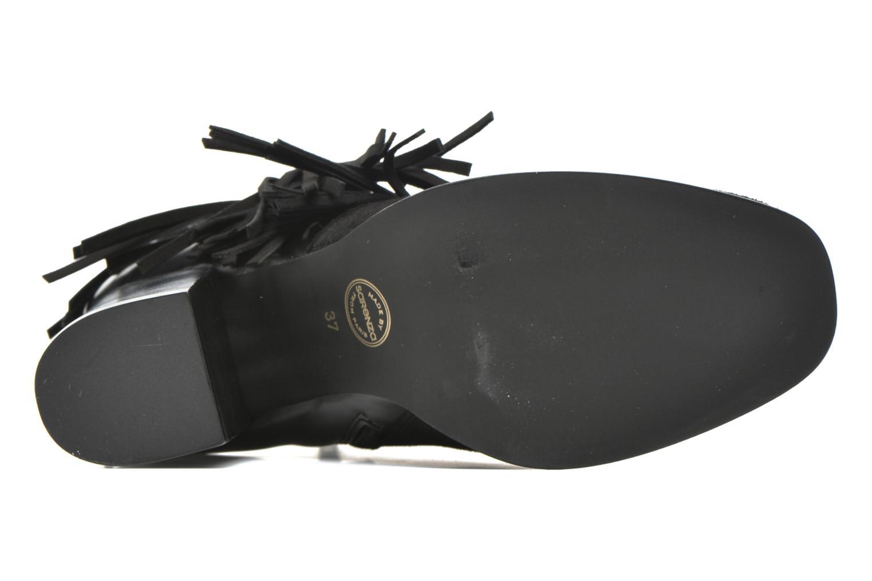 Bottines et boots Made by SARENZA See Ya Topanga #8 Noir vue haut