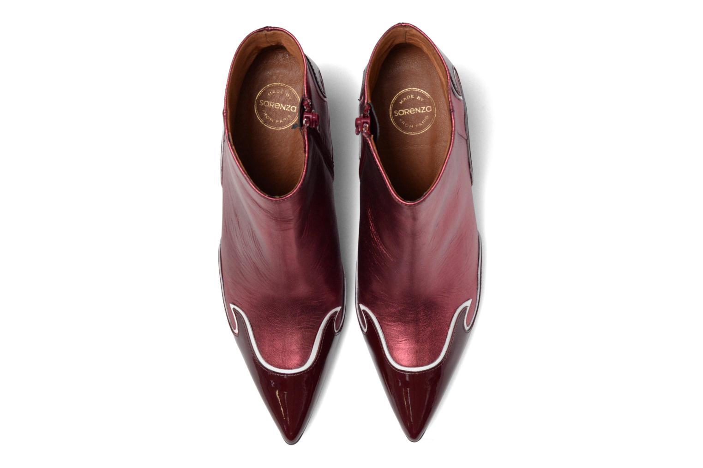 Stiefeletten & Boots Made by SARENZA Glamatomic #4 weinrot schuhe getragen