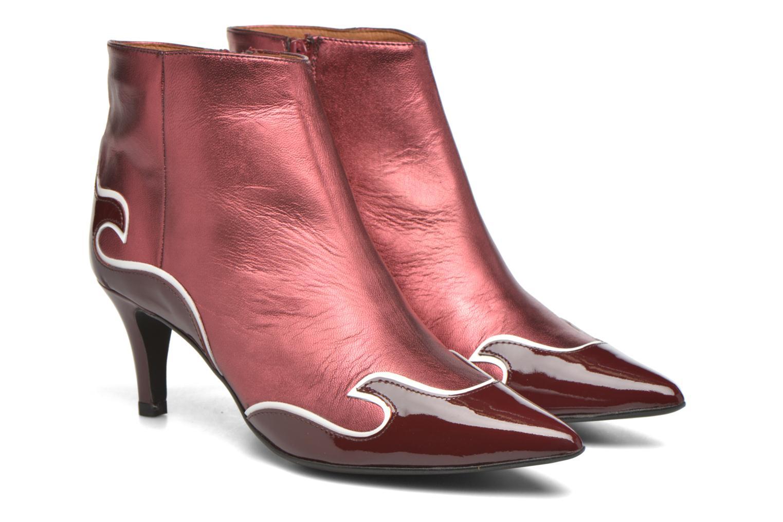 Stiefeletten & Boots Made by SARENZA Glamatomic #4 weinrot ansicht von hinten