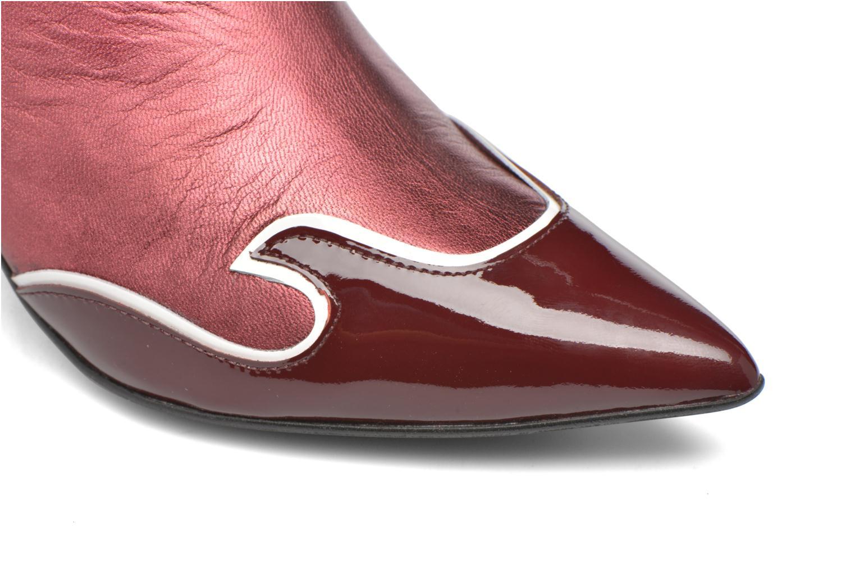 Stiefeletten & Boots Made by SARENZA Glamatomic #4 weinrot ansicht von links