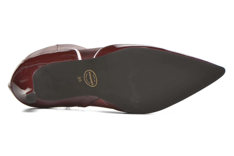 Stiefeletten & Boots Made by SARENZA Glamatomic #4 weinrot ansicht von oben