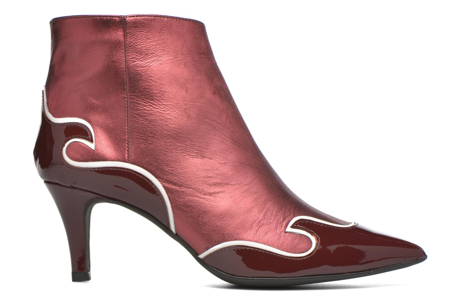 Ankle boots Made by SARENZA Glamatomic #4 Burgundy detailed view/ Pair view