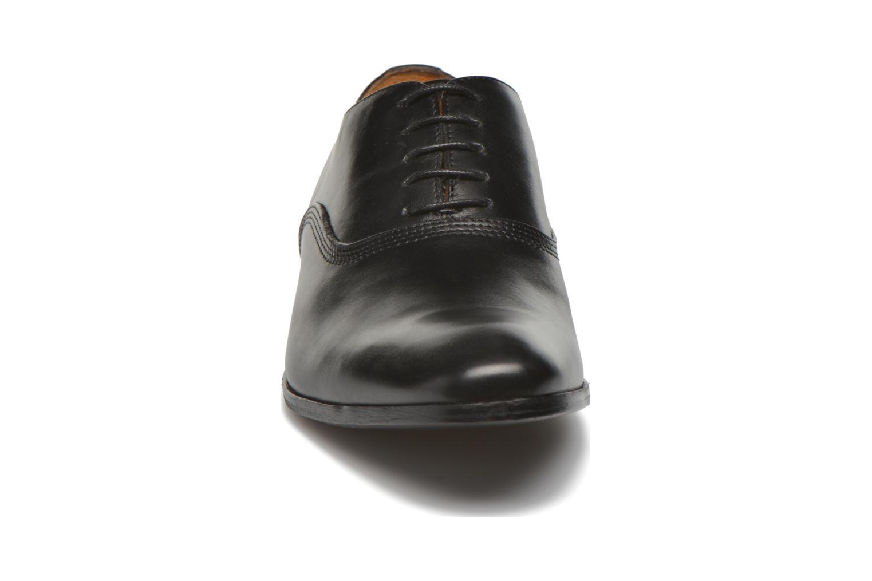 Schnürschuhe Marvin&Co Newry schwarz schuhe getragen