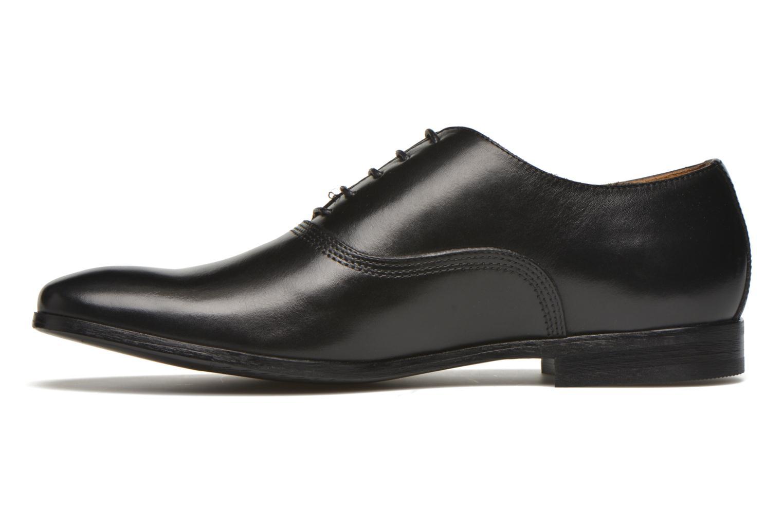 Chaussures à lacets Marvin&Co Newry Noir vue face