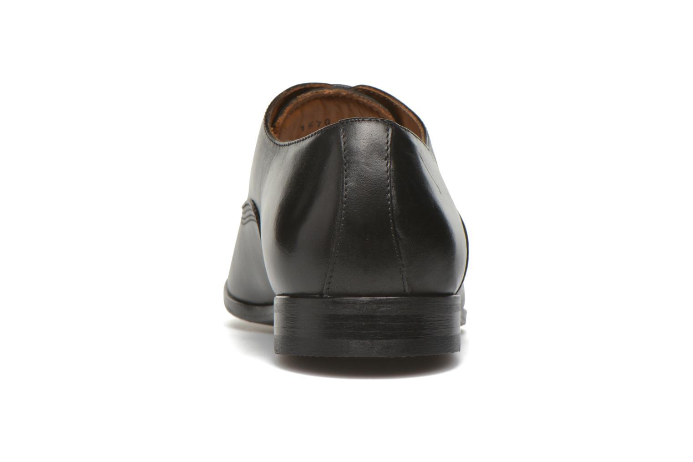 Schnürschuhe Marvin&Co Newry schwarz ansicht von rechts
