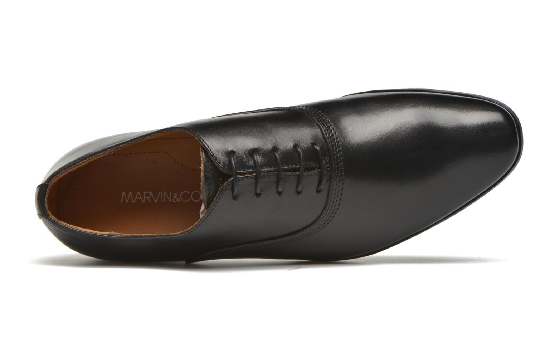 Schnürschuhe Marvin&Co Newry schwarz ansicht von links