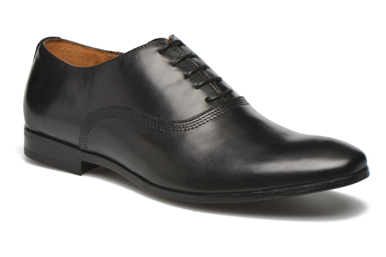 Chaussures à lacets Marvin&Co Newry Noir vue détail/paire