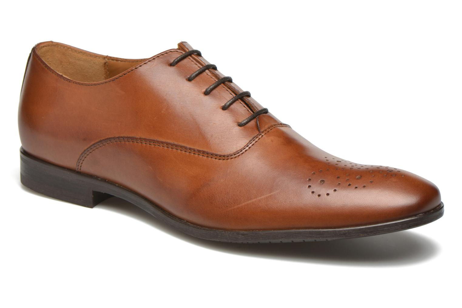 Veterschoenen Marvin&Co Newmilton Bruin detail