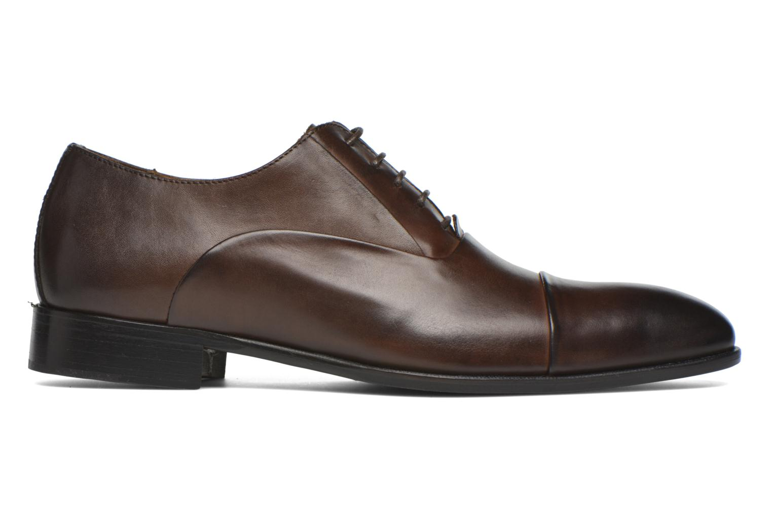Lace-up shoes Marvin&co Norwood Brown back view