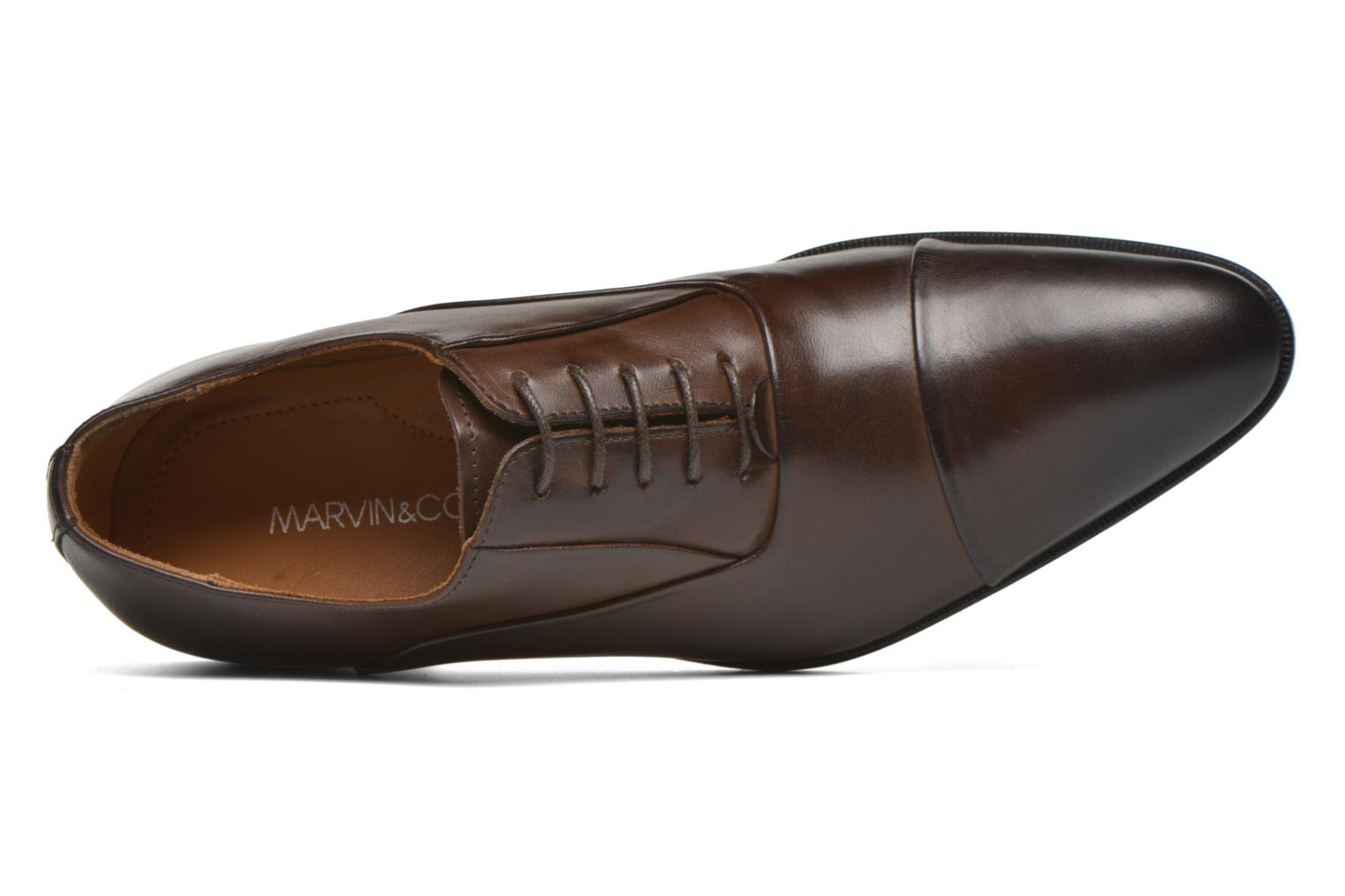 Veterschoenen Marvin&Co Norwood Bruin links