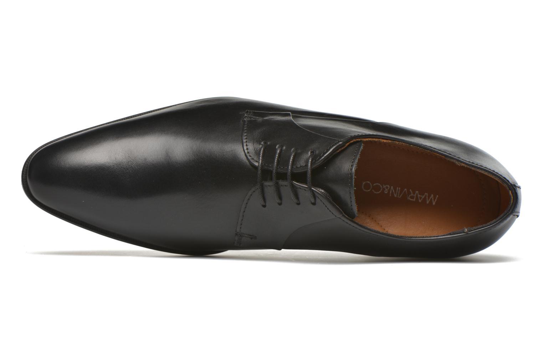 Scarpe con lacci Marvin&Co Needham Nero immagine sinistra