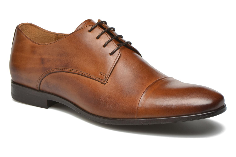 Chaussures à lacets Marvin&Co Newhaven Marron vue détail/paire