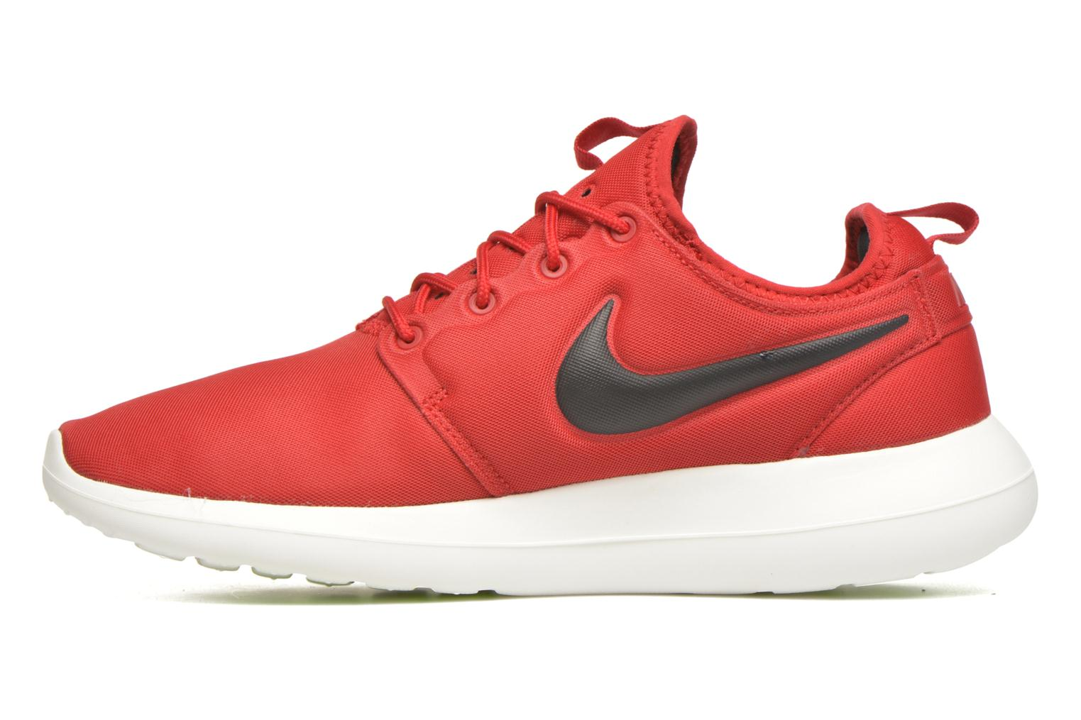 Baskets Nike Nike Roshe Two Rouge vue face