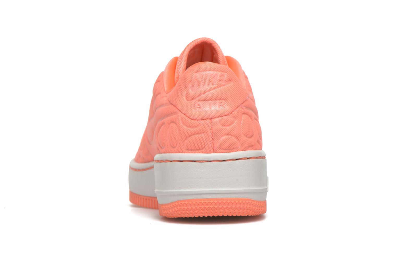 Sneaker Nike Nike W Af1 Upstep Se orange ansicht von rechts