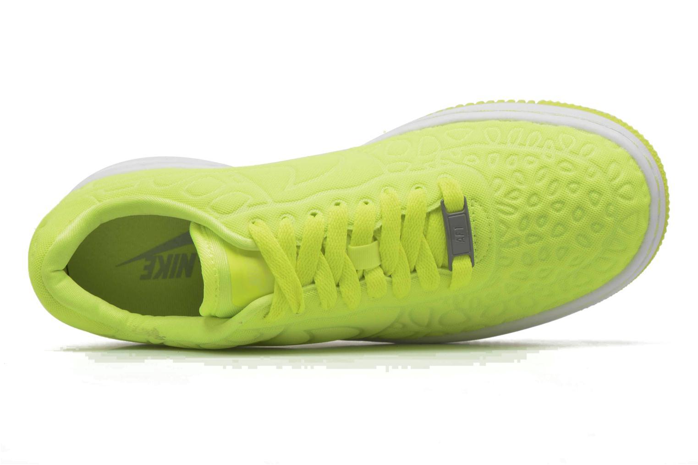 Baskets Nike Nike W Af1 Upstep Se Jaune vue gauche