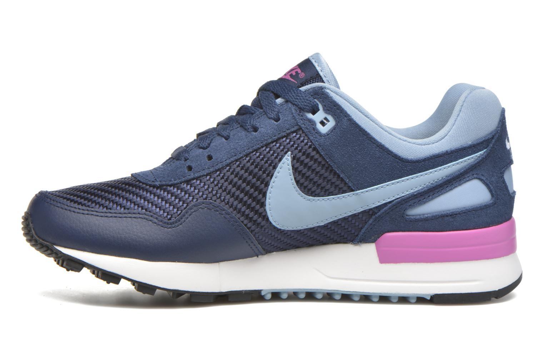 Deportivas Nike Nike W Air Pegasus '89 Azul vista de frente