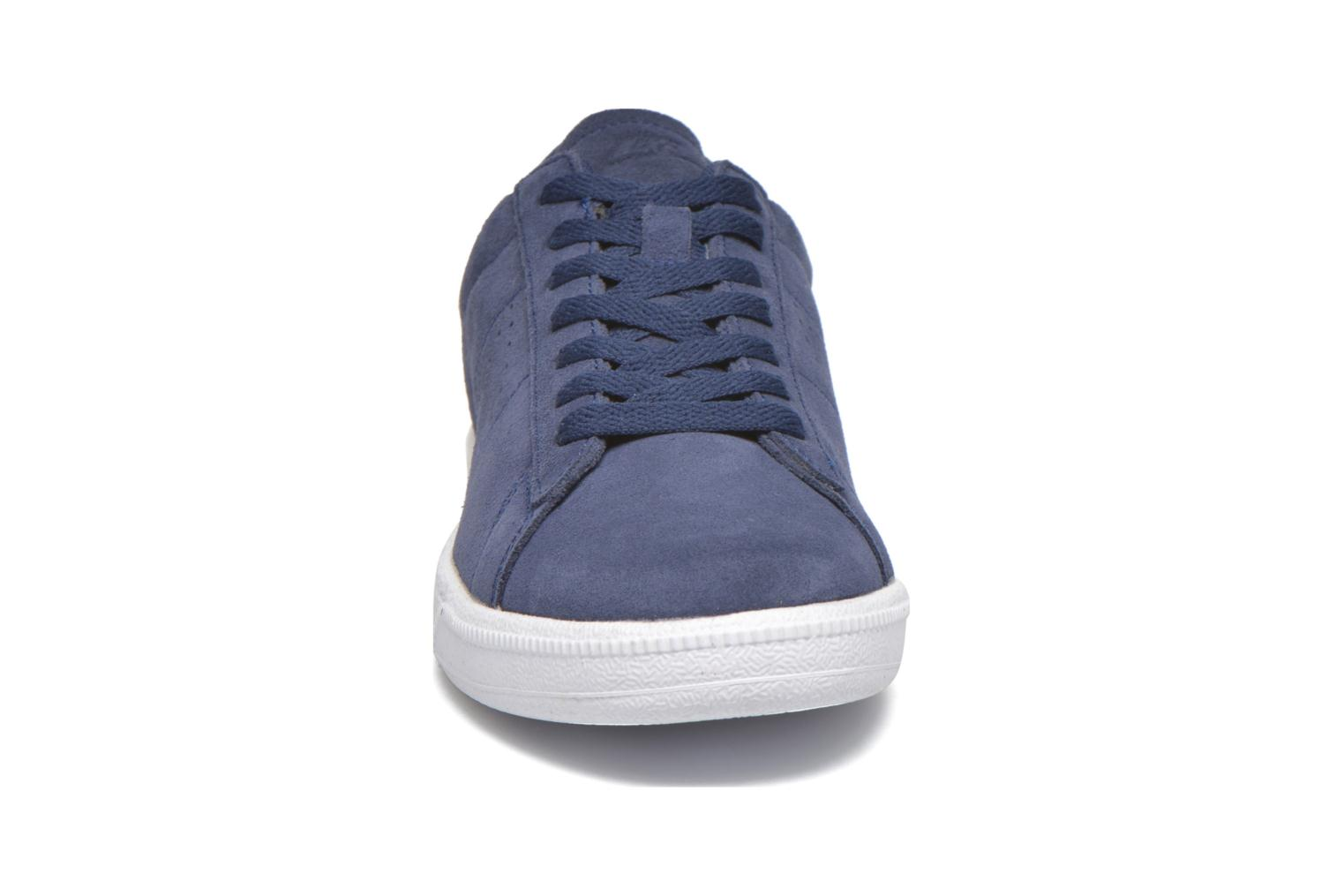 Trainers Nike Tennis Classic Cs Suede Blue model view
