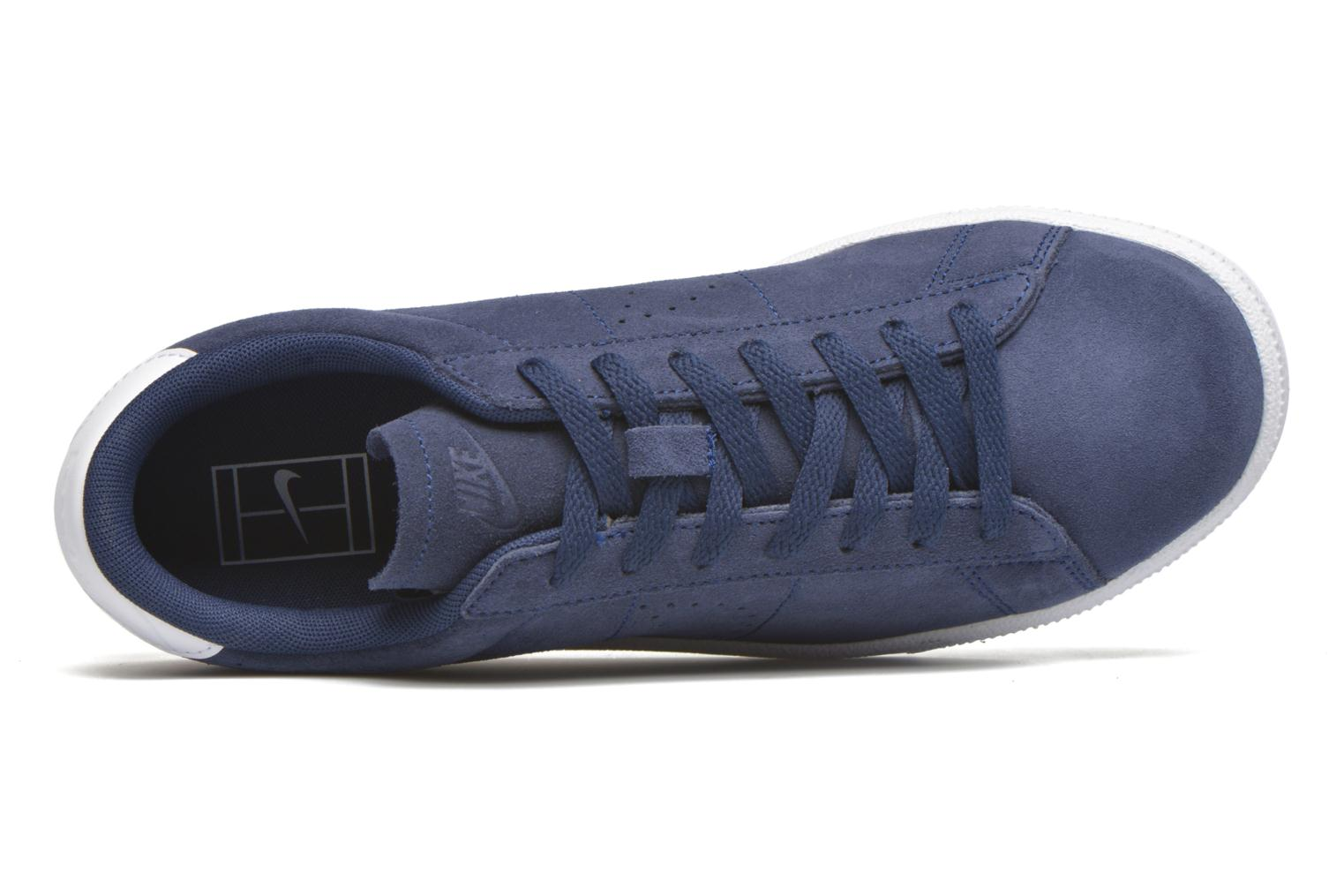 Trainers Nike Tennis Classic Cs Suede Blue view from the left