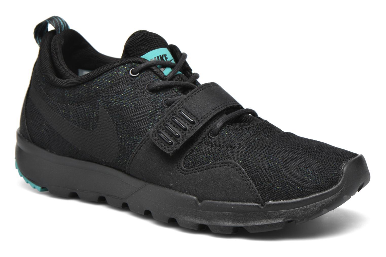 Chaussures de sport Nike Trainerendor Noir vue détail/paire