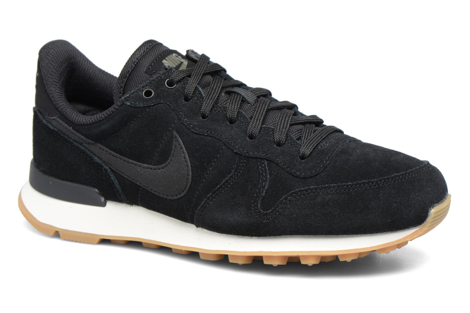Sneakers Nike W Internationalist Se Zwart detail