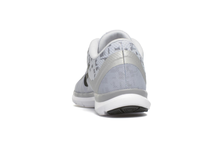 Sportssko Nike W Nike Flex Trainer 6 Print Grå Se fra højre