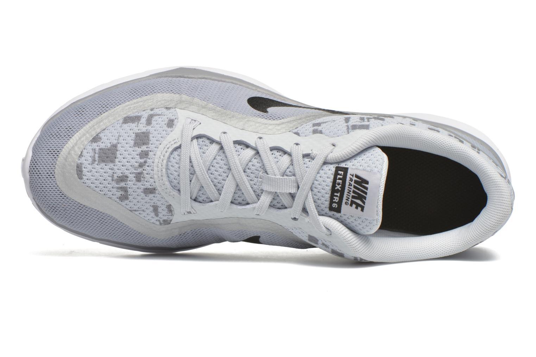Sportssko Nike W Nike Flex Trainer 6 Print Grå se fra venstre
