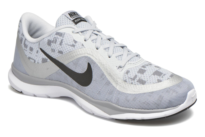 Sportssko Nike W Nike Flex Trainer 6 Print Grå detaljeret billede af skoene