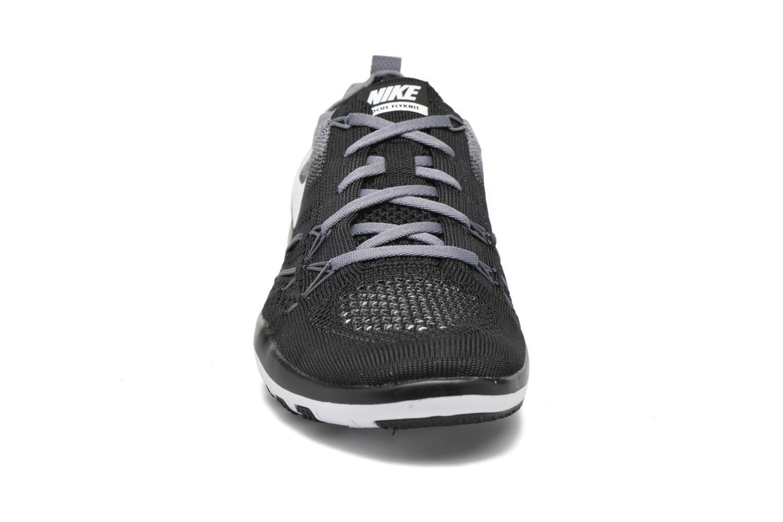 Sportschuhe Nike W Nike Free Tr Focus Flyknit schwarz schuhe getragen