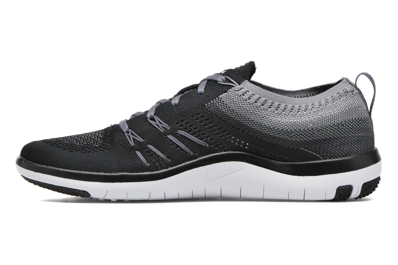 Sportschuhe Nike W Nike Free Tr Focus Flyknit schwarz ansicht von vorne