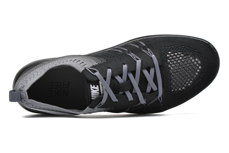 Sportschuhe Nike W Nike Free Tr Focus Flyknit schwarz ansicht von links