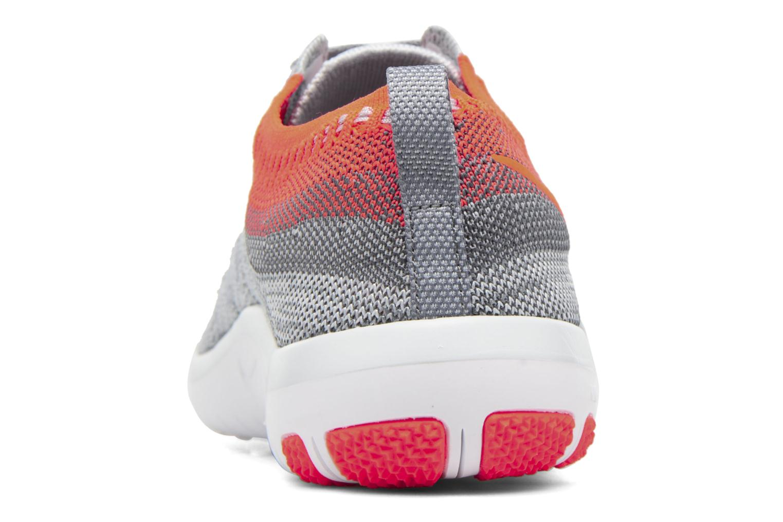 Chaussures de sport Nike W Nike Free Tr Focus Flyknit Gris vue haut