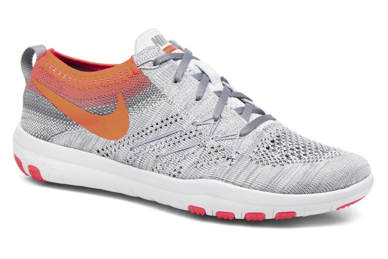 Sportschuhe Nike W Nike Free Tr Focus Flyknit grau detaillierte ansicht/modell