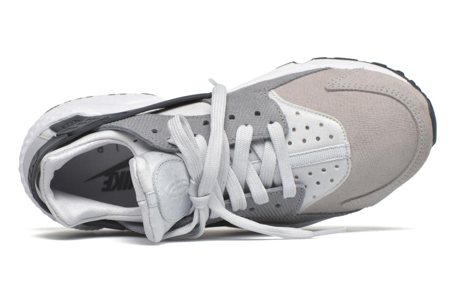 Trainers Nike Wmns Air Huarache Run Prm Grey view from the left